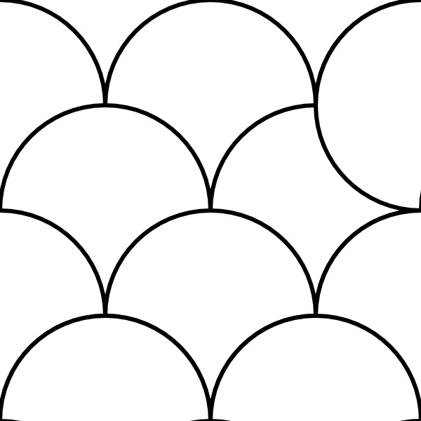 Tiles clipart pattern Drawing Open in Pattern Circles