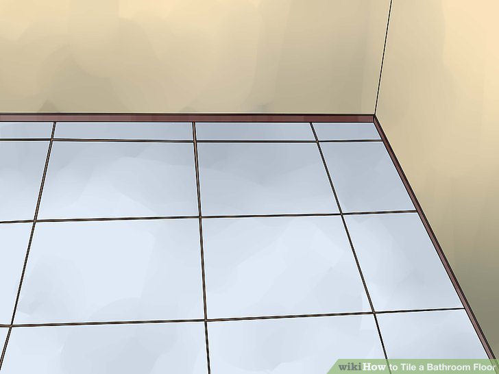 Tiles clipart washroom Floor (with Pictures) wikiHow 13