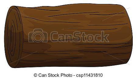 Timber clipart Timber Vector of log