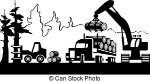 Timber clipart black and white Clipart Timber clip Timber forest