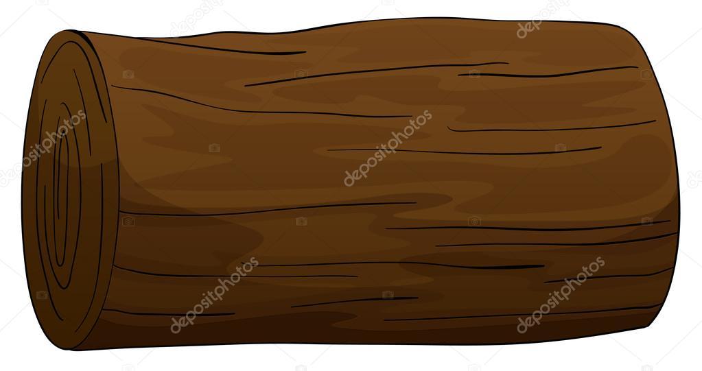 Timber clipart hollow log Timber #13828191 Stock Vector ©