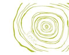 Timber clipart tree ring Tree form rings tree Art
