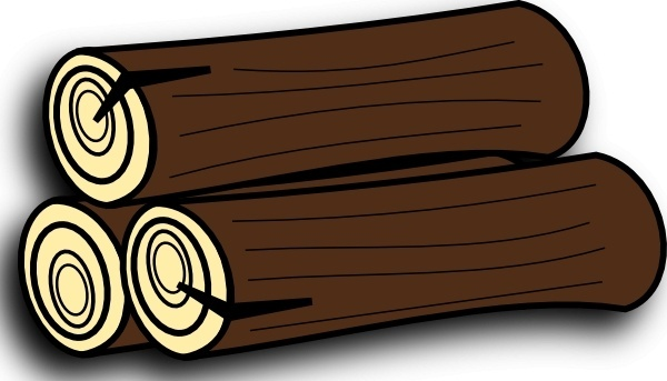 Timber clipart wood log Free for Wood (36 free