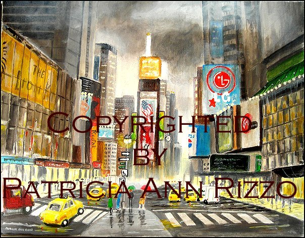 Times Square clipart shopping times Watercolors by clipart times Patricia