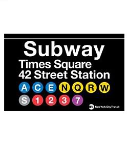 Times Square clipart subway Art square Clip times nyc