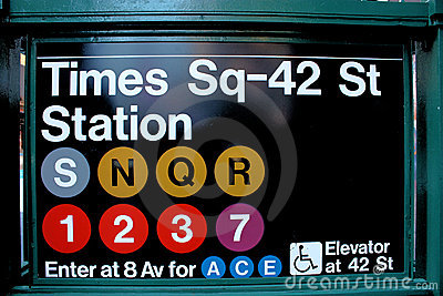 Times Square clipart subway (33+) Square york Times new