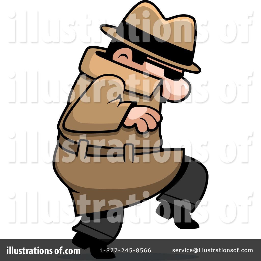 Tiptoe clipart spy Illustration Spies (RF) Clipart #94545