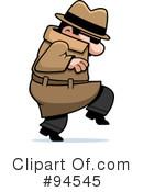 Tiptoe clipart spy Clipart (RF) #94545 Illustrations #1