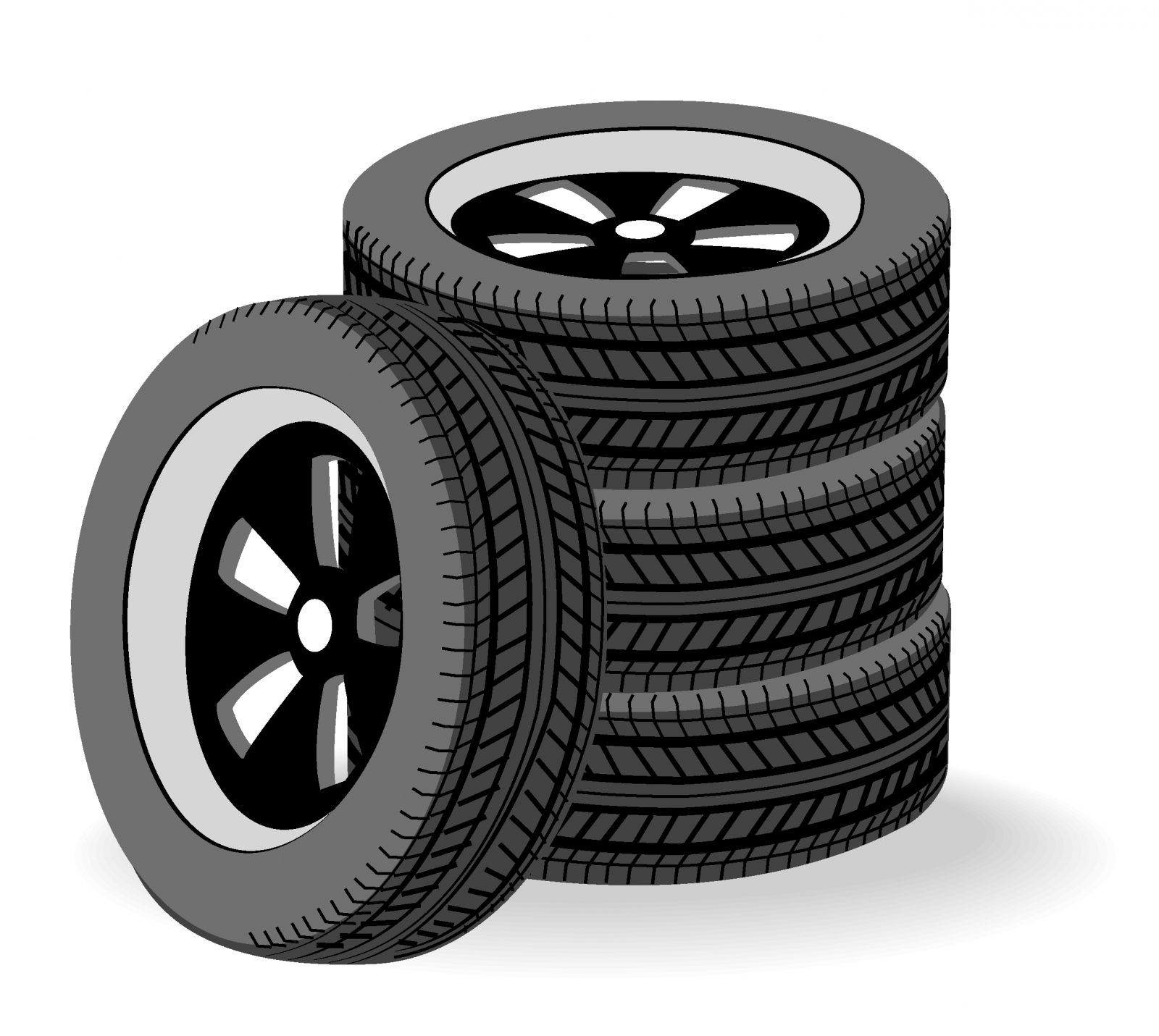 Tires clipart semi Art Others Clipart Tire Art