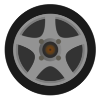 Tire clipart side view View car collection Download rim