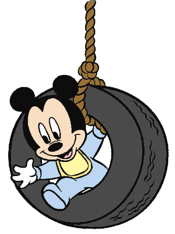 Tire Swing clipart Ciuchy Clipart Tire Mickey Swing