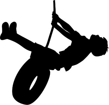 Tire Swing clipart giant Silhouette Pinterest images Swinging