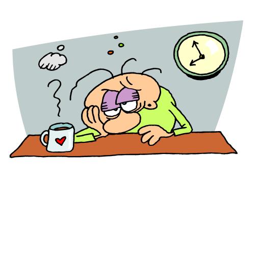 Bed clipart tiredness #19 clipart clipart Tired Tired
