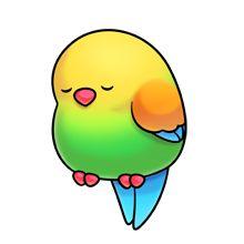 Tired clipart bird #3