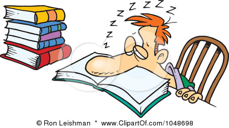 Tired clipart college student #6