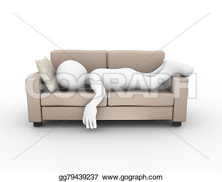 Tired clipart comfortable #4