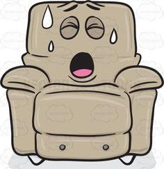 Tired clipart comfortable #6