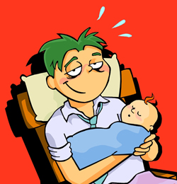Tired clipart dad #5