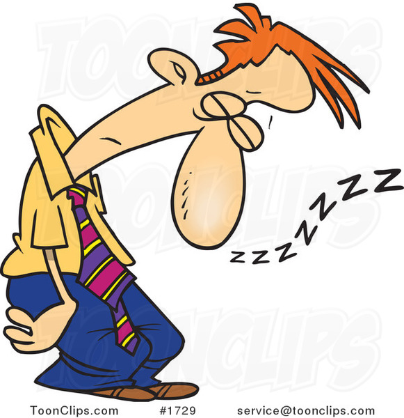 Tired clipart dad #2