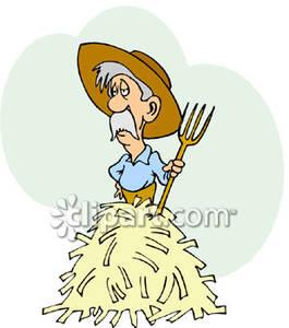 Tired clipart farmer #4