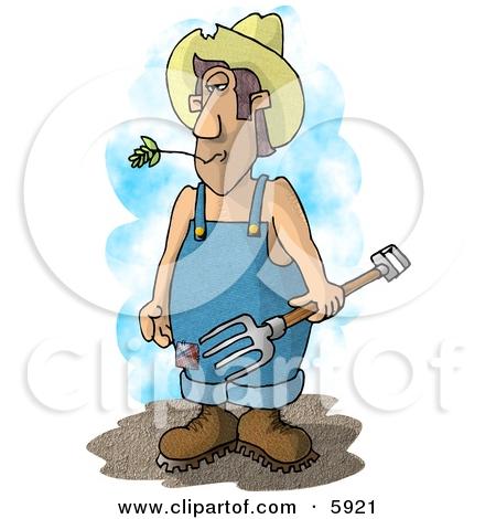 Tired clipart farmer #6