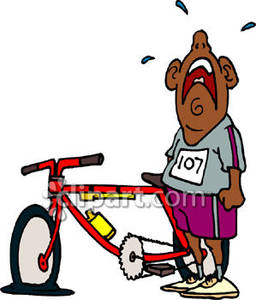 Bike clipart flat tire Free With Flat A A