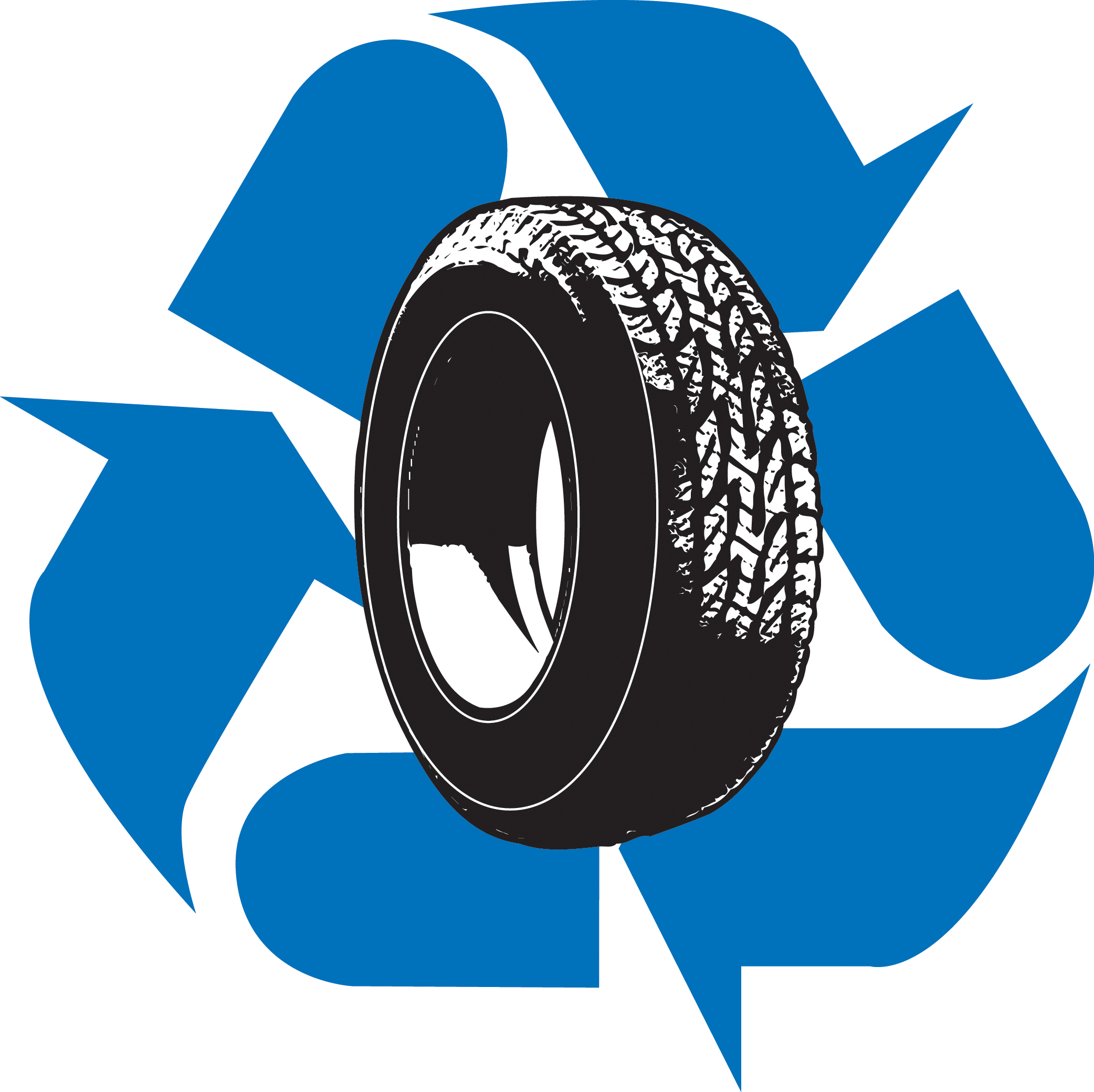 Tires clipart blue How it to Recycle Roseburg