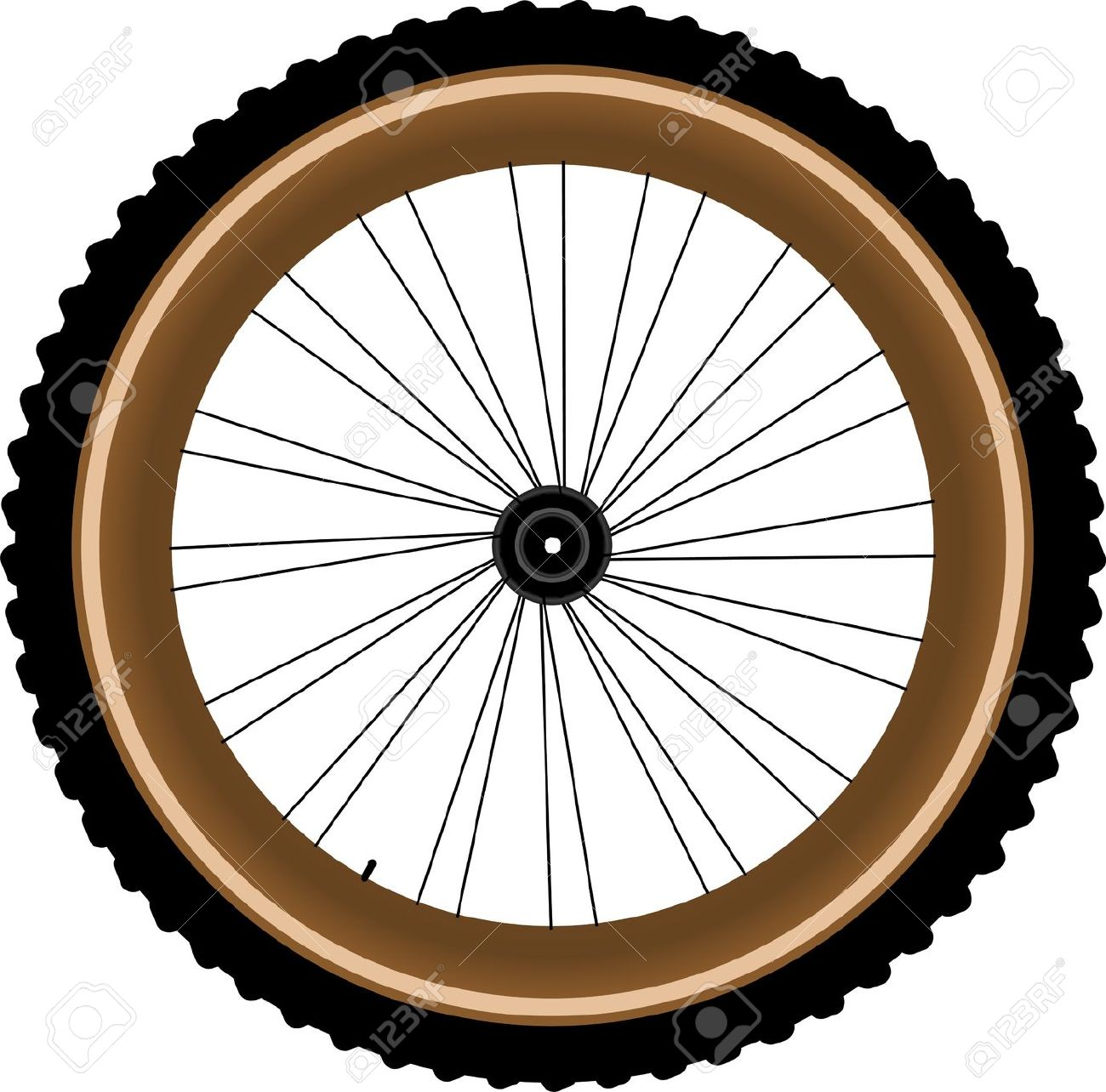 Bicycle clipart bicycle wheel Clip bicycle Dirt Wheel clip