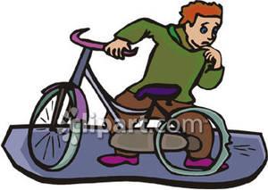 Bike clipart flat tire Bike A Picture Free A