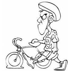 Bike clipart flat tire Cartoon Flat Tire  picture