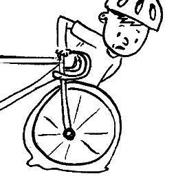 Bike clipart flat tire (@flattireguy) Twitter tire tire flat