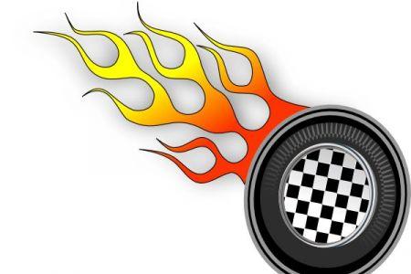 Racer clipart tire Race wheel Wheels tracks UK