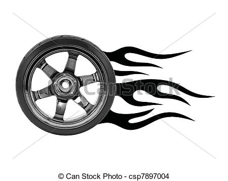 Hot Wheels clipart rims Rubber white Hot Hot isolated