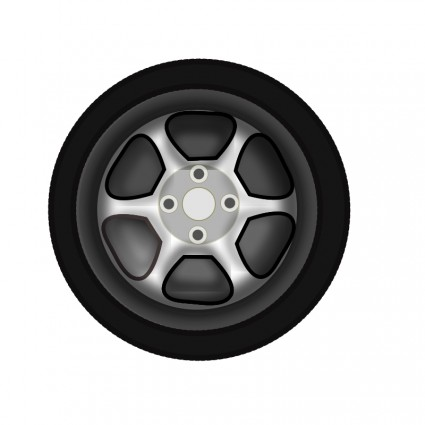 Racer clipart tire Download Tyre Clip Wheel Art