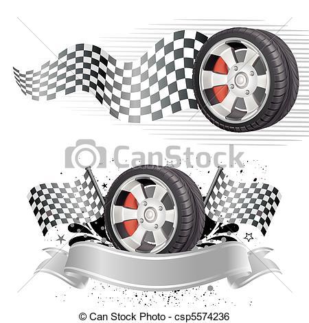 Racer clipart tire Clip automobile race Art of