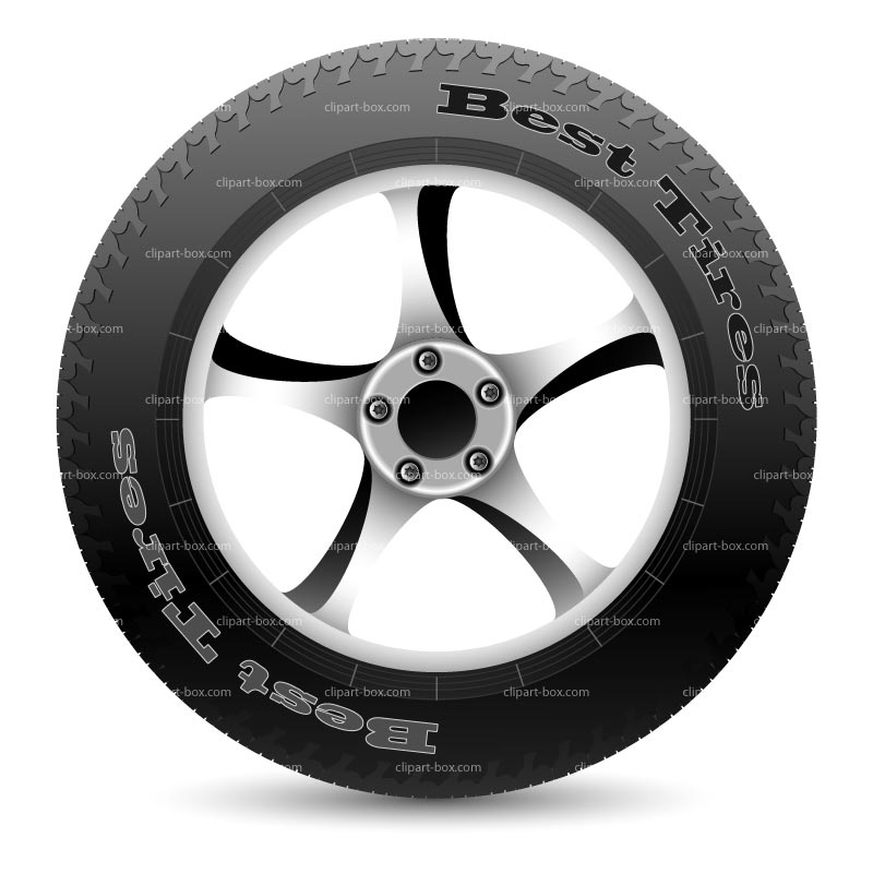 Tire clipart side view Car And and Clipart Tire