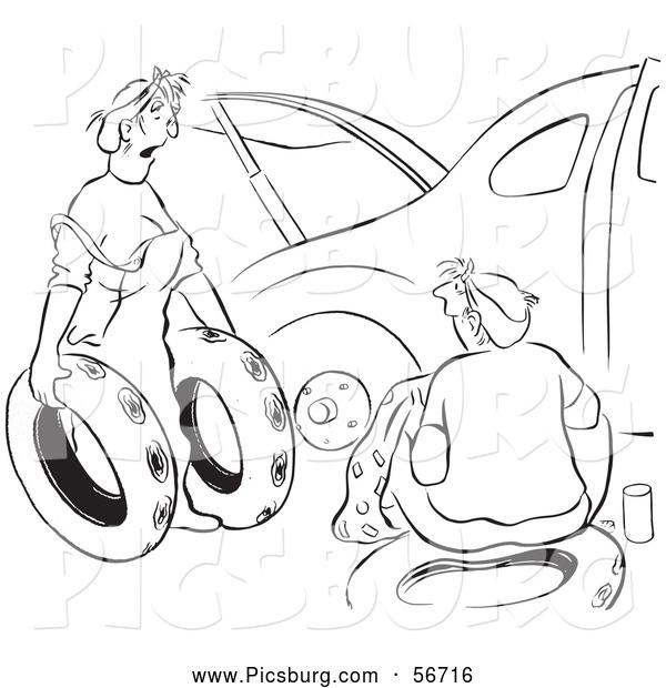 Tires clipart spare tire Art Woman Art Car Offering