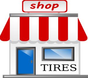 Tires clipart tire shop  royalty at online public