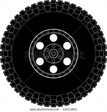 Tires clipart truck tire Tire clipart wheel Clipground Mud