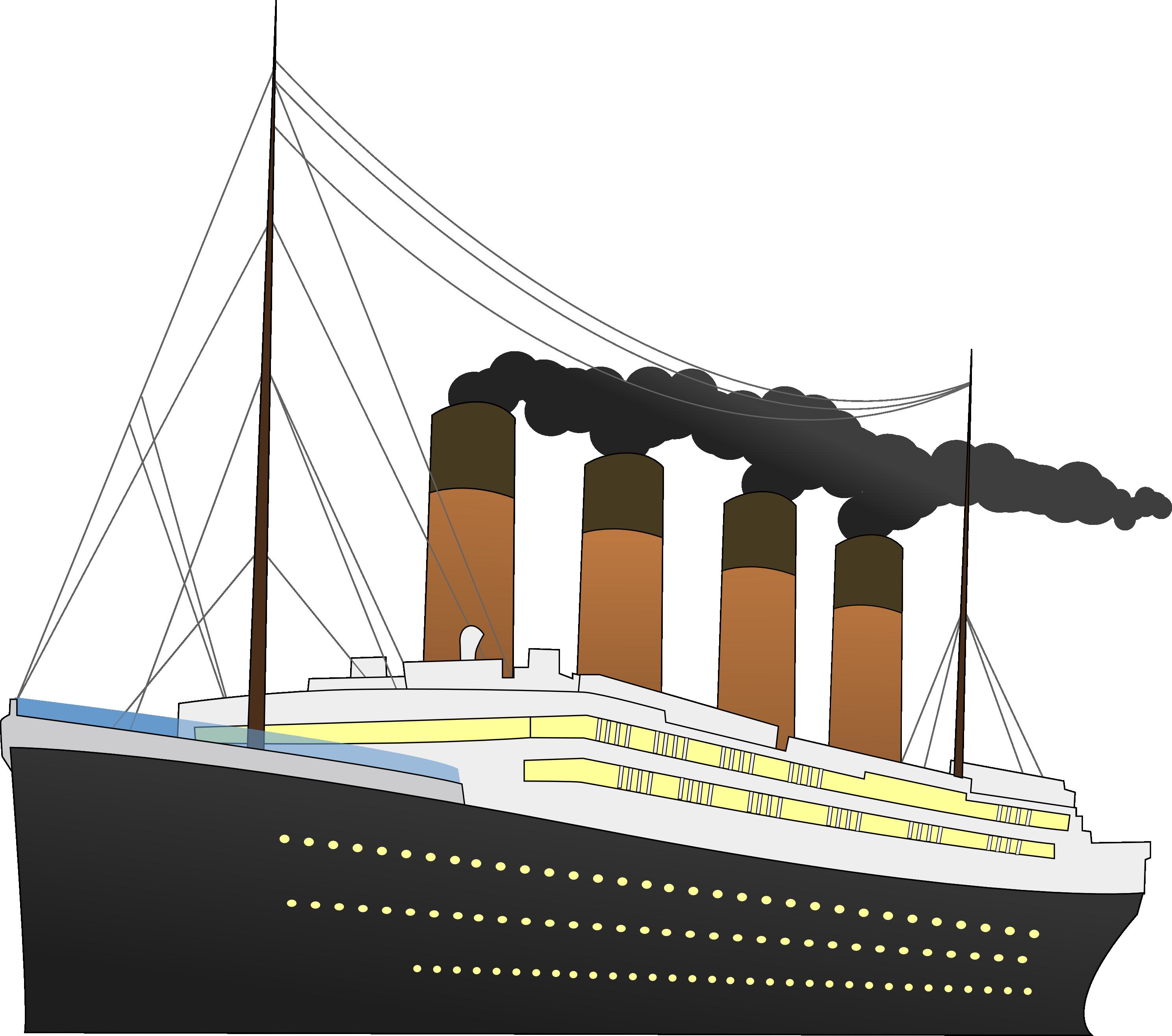Titanic clipart Titanic Titanic Vectors Pie clipart