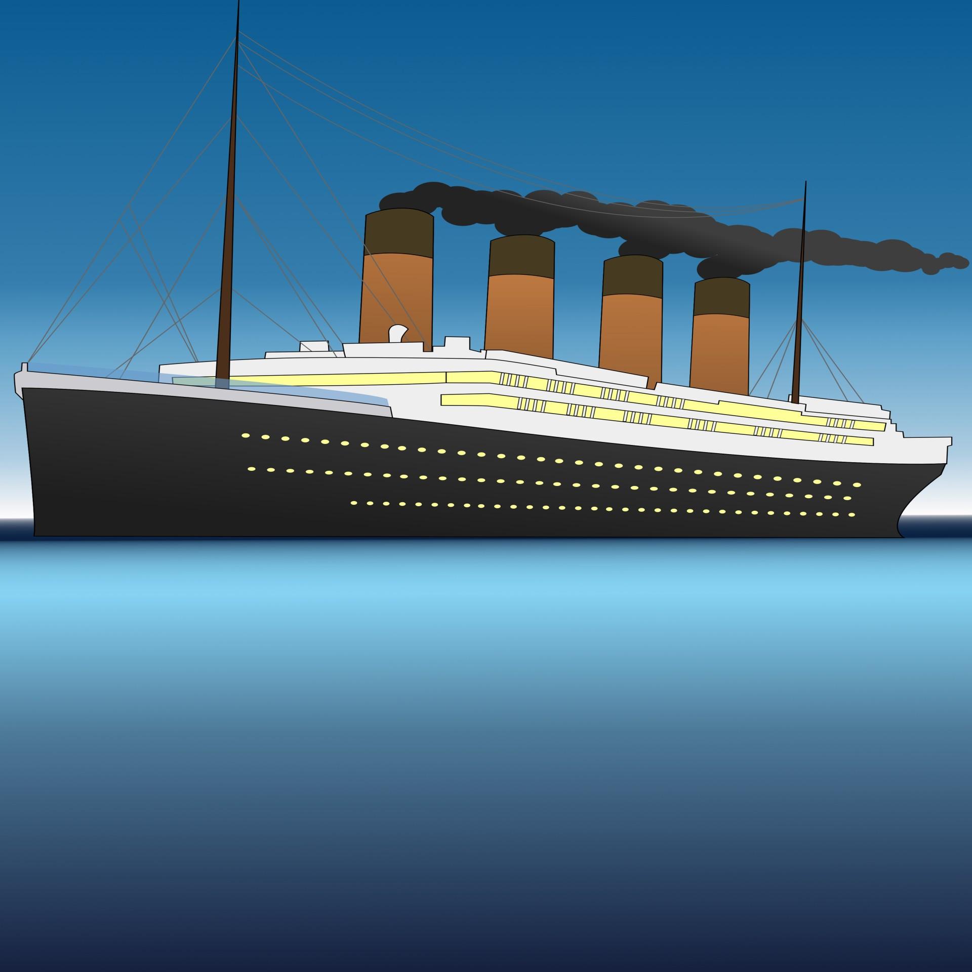 Titanic clipart Wallpaper Art Photo Art Wallpaper