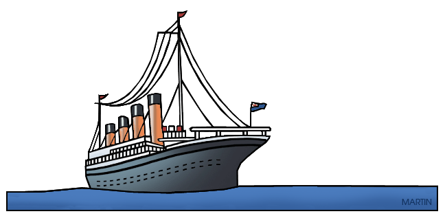 Titanic clipart Titanic History Titanic by Clip