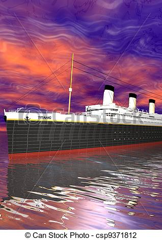 Titanic clipart boat trip Of 2012 and Art csp9371812