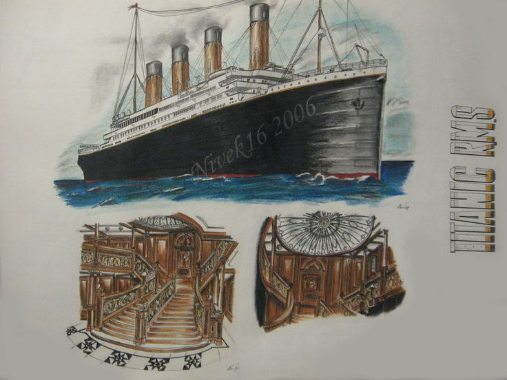 Titanic clipart caravel Pinterest images about on Titanic
