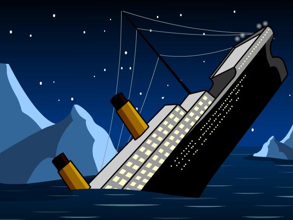 Boat clipart titanic Titanic BrainPOP