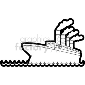 Titanic clipart outline Royalty in clip ship ship