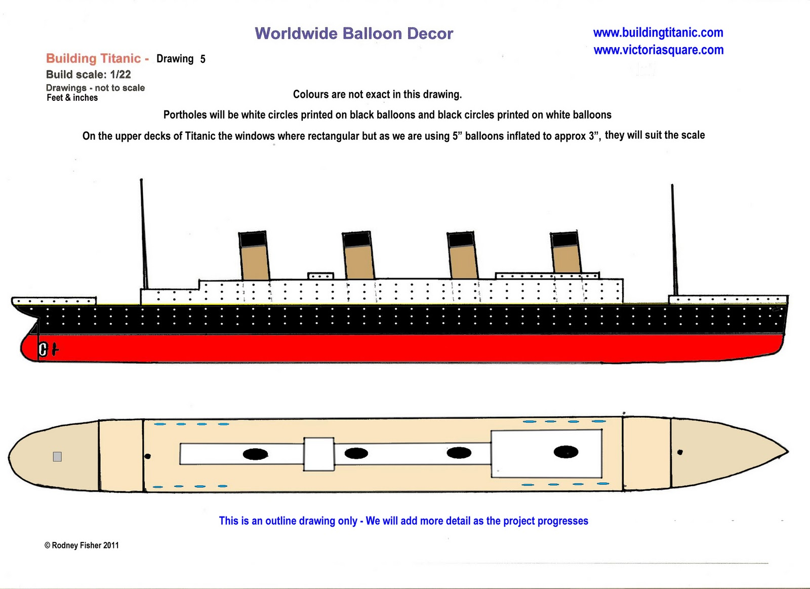 Titanic clipart outline Blog: an Fisher Titanic Building