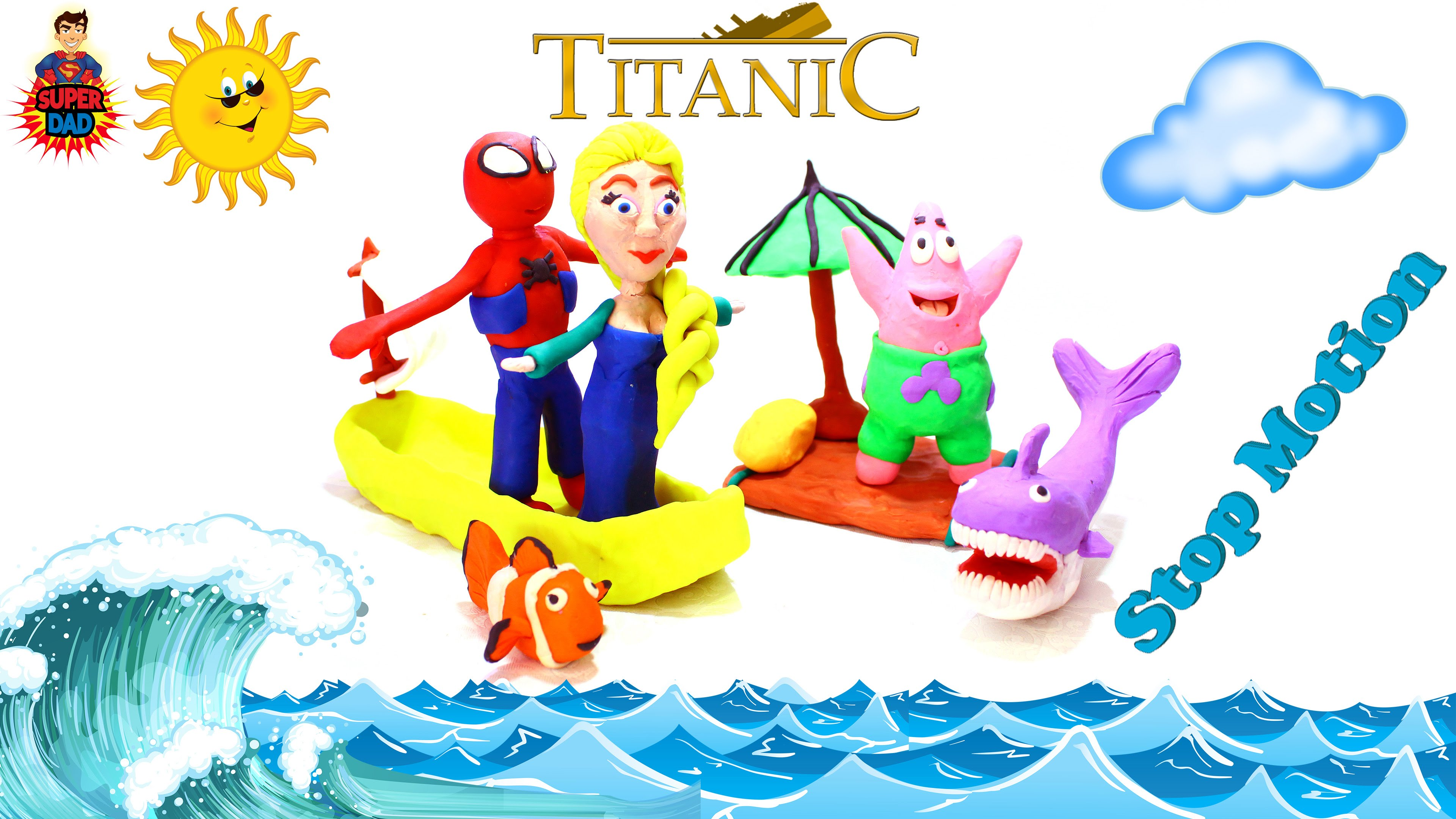 Titanic clipart real Spiderman Frozen and Titanic Elsa
