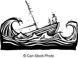 Titanic clipart shipwreck Woman Boat child Photo