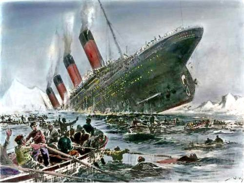 Titanic clipart shipwreck Sinking the Willy Pictures 1912